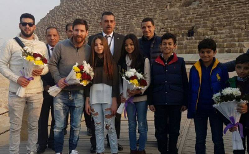 Lionel Messi Visits Egypt To Raise Awareness For Health Campaign