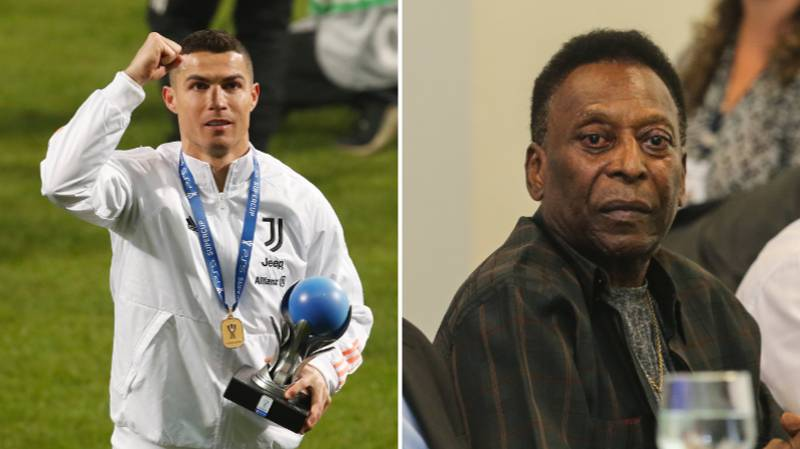 Cristiano Ronaldo Is 'Better Than Pele' And The Brazilian 'Made Up Goals'