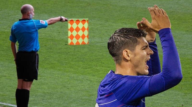 Alvaro Morata Has Been Caught Offside More Than A Premier League Team This Season