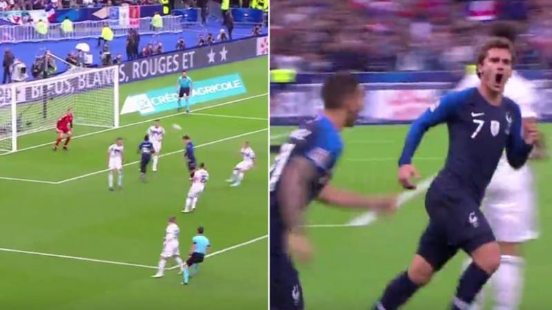 If There Was A Puskas Award For Headers, Antoine Griezmann Would Have Just Won It