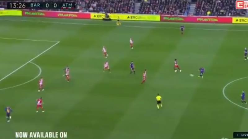Lionel Messi's Pass To Jordi Alba Was A Complete And Utter Joke