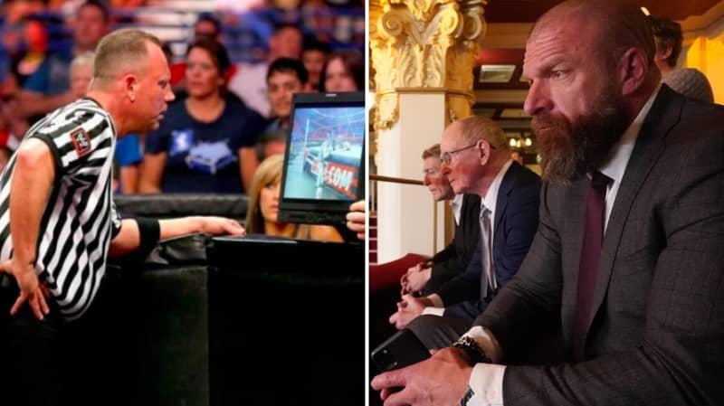 Triple H Says VAR Won't Be Making Its Way To WWE