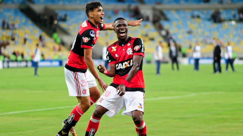 17-Year Old Sensation Vinicius Junior Is Dreaming Of A Place In Brazil's World Cup Squad