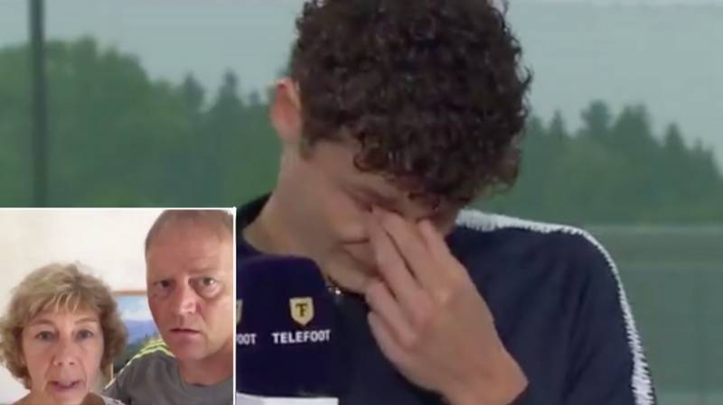 Benjamin Pavard In Tears On French TV After His Parents Send Him Message