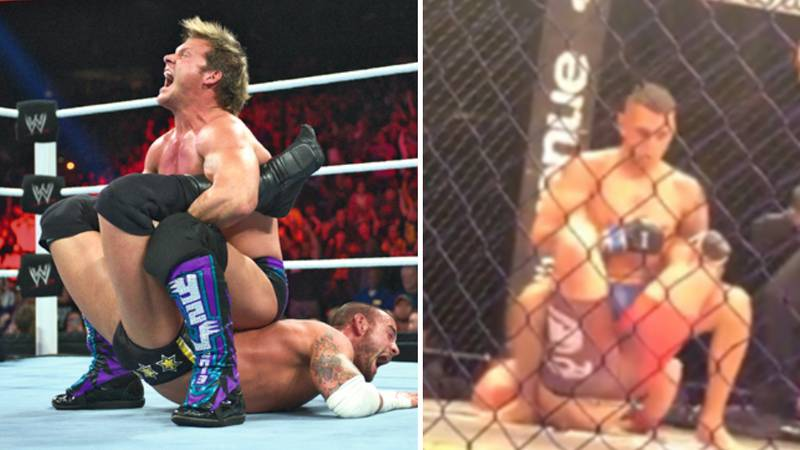 An MMA Fighter Using The Walls Of Jericho Is The Greatest Moment In 2017