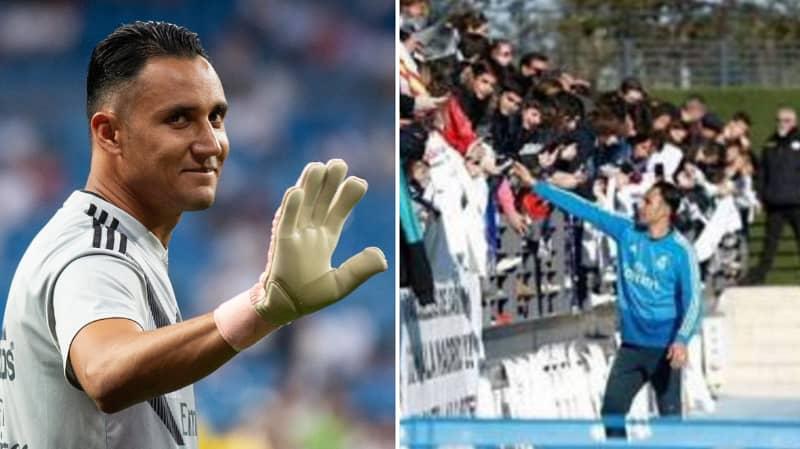 Keylor Navas Posts Message Saying Goodbye To Real Madrid