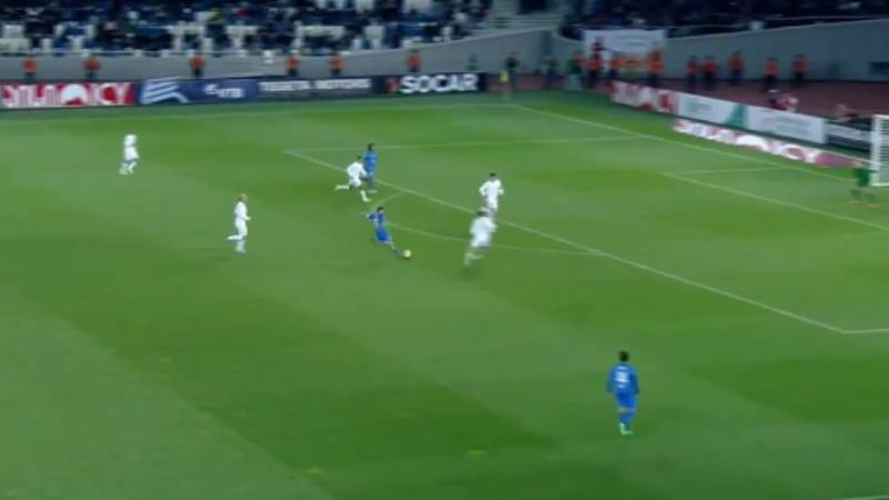 WATCH: Francesco Totti Scores An Absolute Netbuster In Charity Game