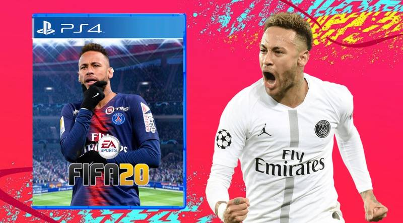 Neymar Tops Poll For Who Fans Want To Be FIFA 20 Cover Star