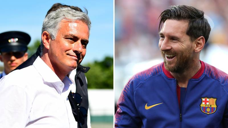 Jose Mourinho Insists That Lionel Messi 'Made Me A Better Coach'
