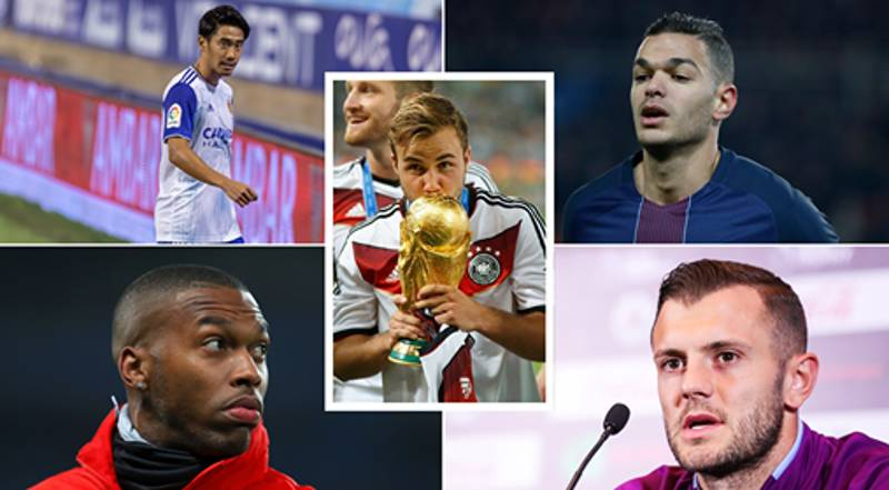 Some Incredible Players Are Still Available As Free Agents After Transfer Deadline Day