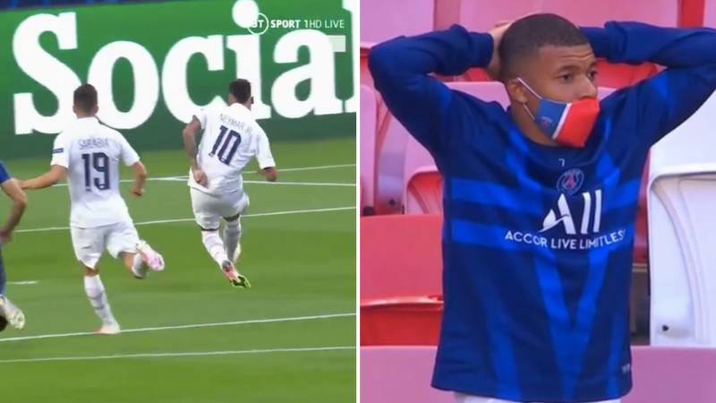 Neymar Somehow Misses Glorious One-On-One Chance Against Atalanta