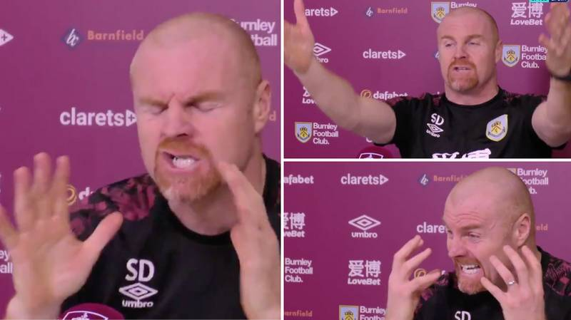 Burnley Manager Sean Dyche Gives, Without Doubt, The Greatest Press Conference Of All Time