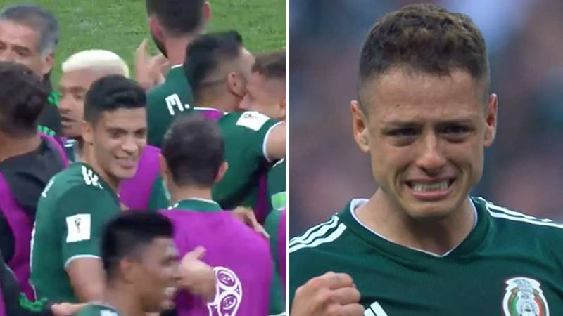 Mexico Players Brought To Tears After Famous Win Over Germany