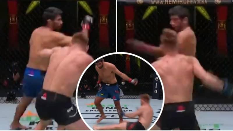 Beneil Dariush Scored One Of The Nastiest Spinning Back Elbow KO's In UFC History