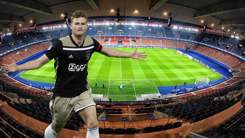 Matthijs De Ligt To Be Offered €15 Million A Season Deal By PSG