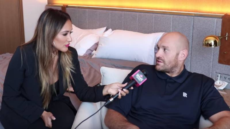 Tyson Fury Claims Four Boxers Rejected A Fight Before He Took Up The Otto Wallin Bout