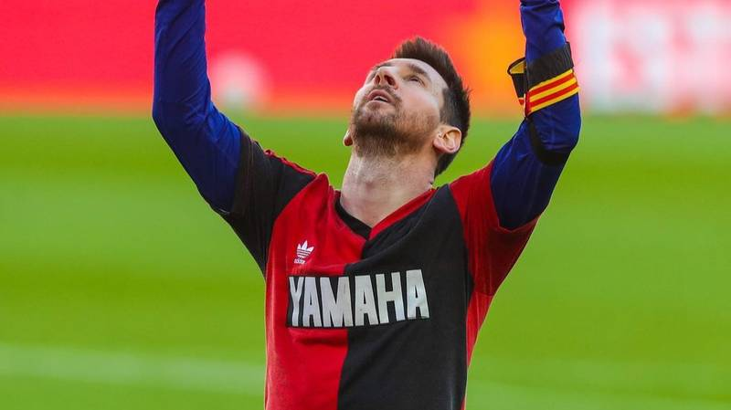 Lionel Messi Fined For On-Field Tribute To Diego Maradona