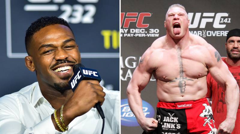 Jon Jones Says He Would 'Embarrass' 'Slow' Brock Lesnar