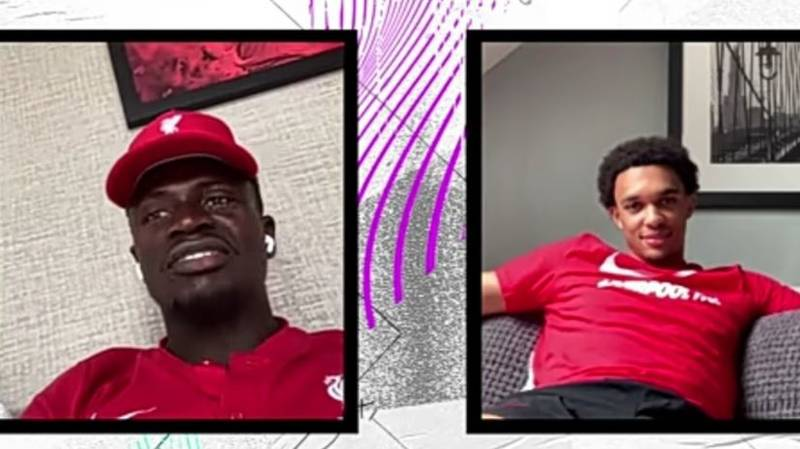 Sadio Mane Brutally Rates Trent Alexander-Arnold's Defending For FIFA 21
