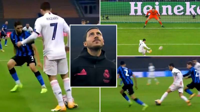 Eden Hazard's Highlights For Real Madrid Vs Inter Milan Prove He's Still A World Class Player