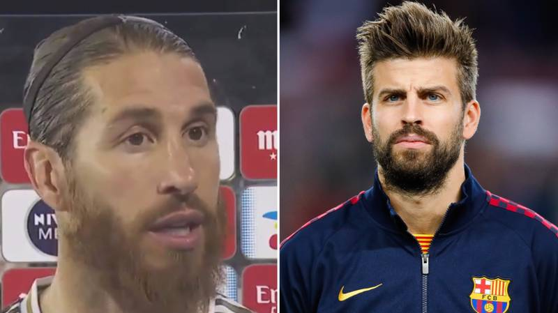 Sergio Ramos Fires Back At Gerard Pique's Controversial VAR Claim
