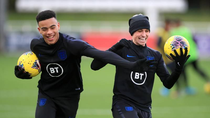 A Video Has Emerged Of What Appears To Be A Conversation Between Phil Foden And Mason Greenwood And The Icelandic Girls