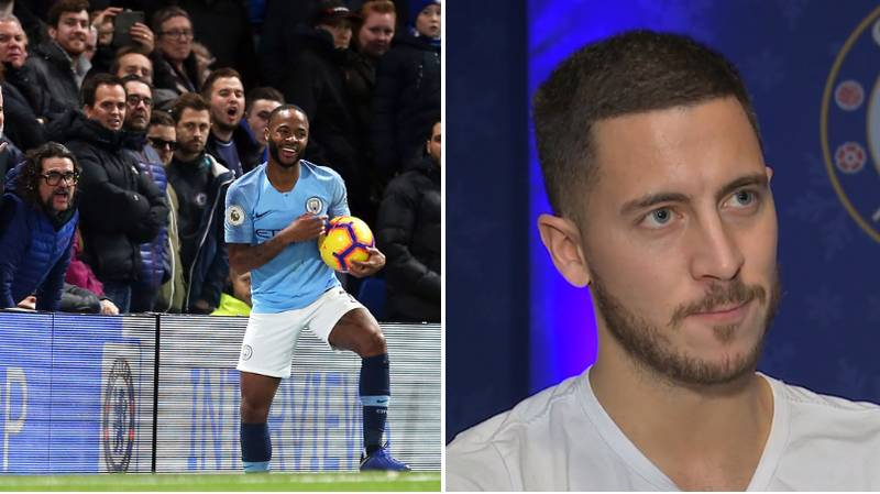 Eden Hazard Sends A Message Of Support To Raheem Sterling