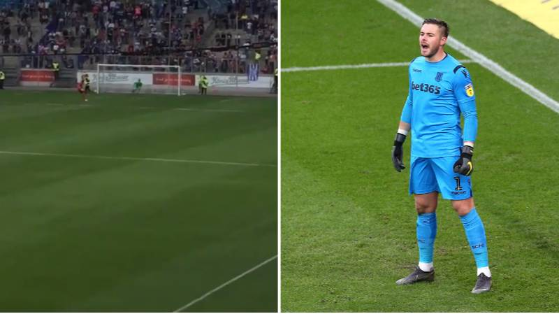 Jack Butland Takes And Scores All Of Stoke's Penalties In Shoot-Out