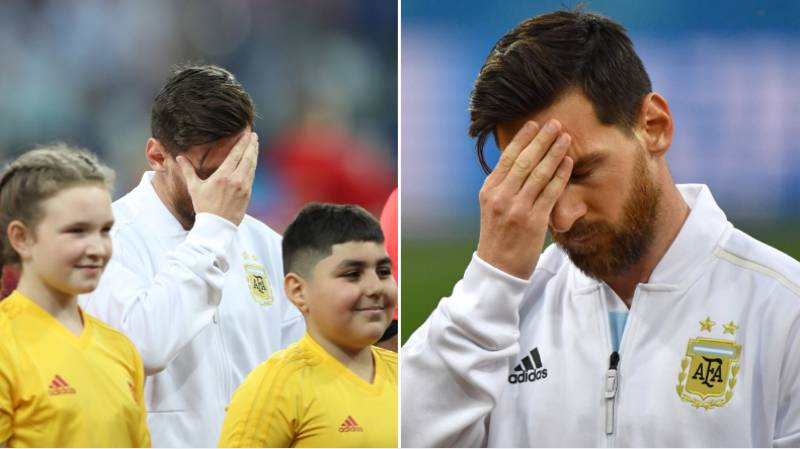 Lionel Messi Knew In The Line-Ups It Was Going To Be A Bad Day