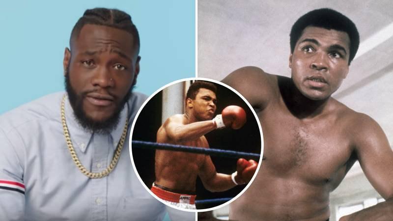 Deontay Wilder Reacts To Who Would Win Out Of A Fight Between Him And Muhammad Ali