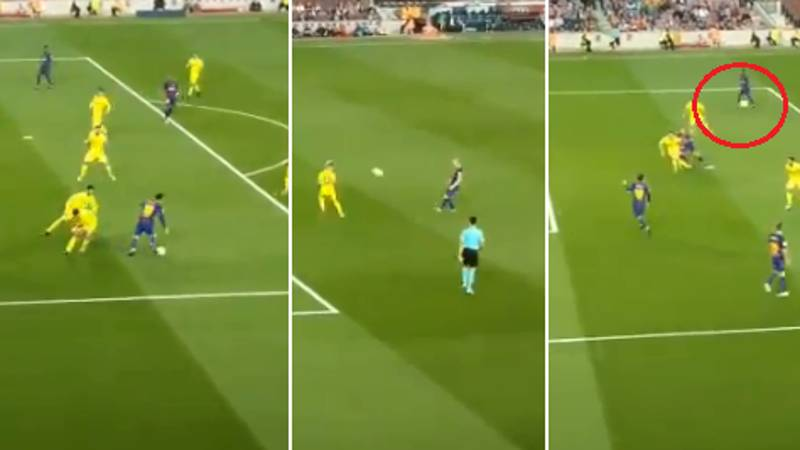Andres Iniesta Plays Utterly Insane One-Two With Lionel Messi For Brilliant Goal