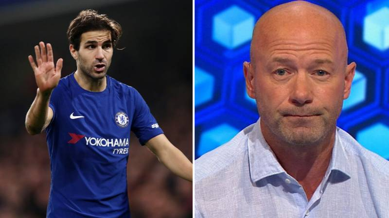 Cesc Fabregas Isn't Happy At Alan Shearer's Team Of The Decade
