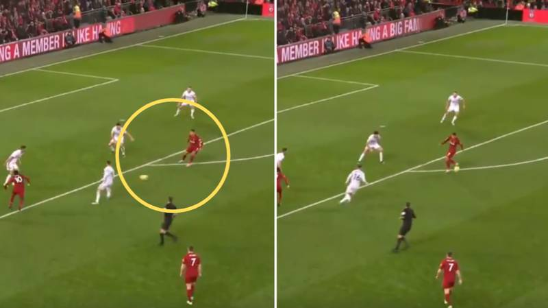 Roberto Firmino's Never-Before-Seen Touch Is Blowing People's Minds