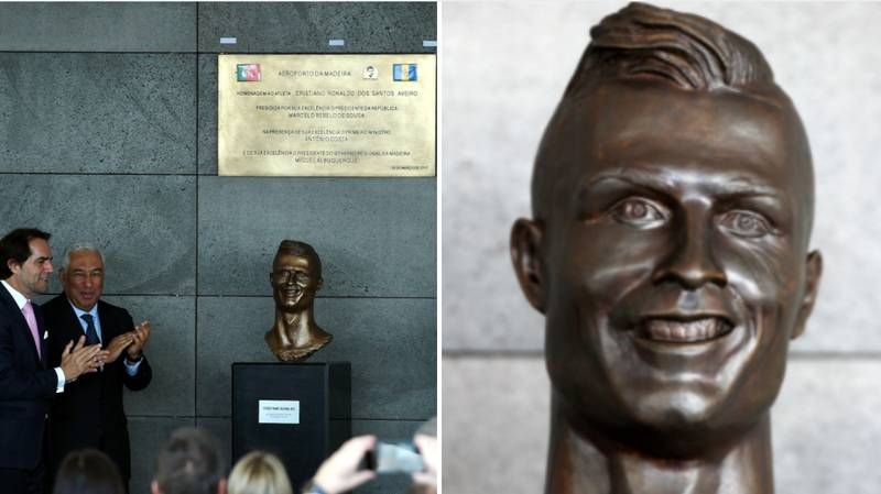 The Guy Who Made The Famously Bad Cristiano Ronaldo Statue Has Tried Again