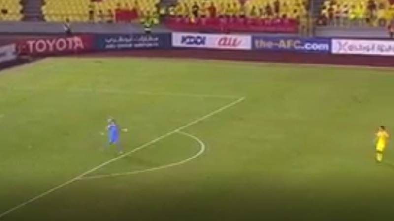 WATCH: Syria's Goalkeeper Produced A Game-Changing Piece Of Play Yesterday