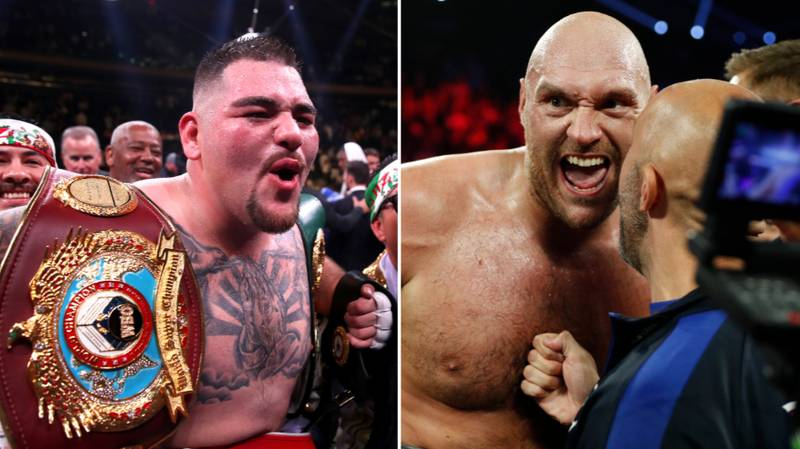 "Andy Ruiz Jr Responds To Tyson Fury Calling Him A ""Bum"" Despite Dethroning Anthony Joshua"