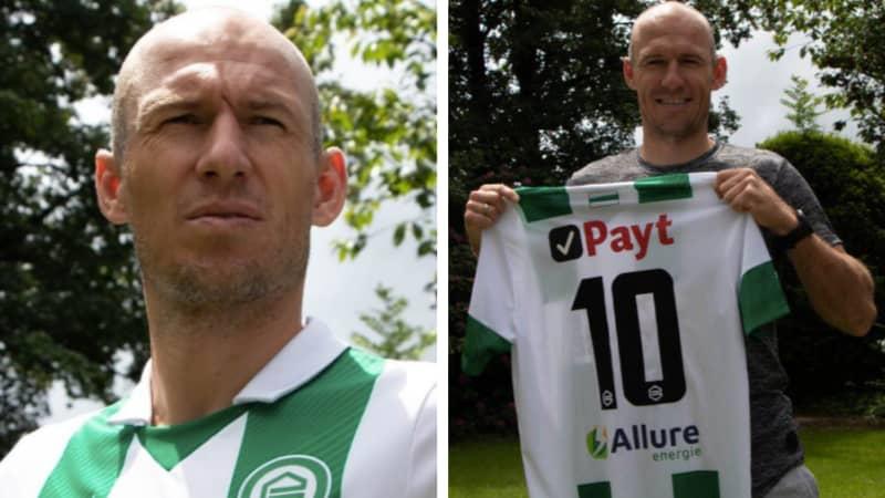 Arjen Robben Returns To Boyhood Club FC Groningen