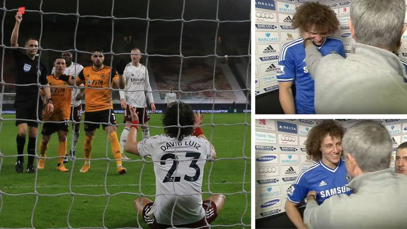 The Time Jose Mourinho Accused David Luiz Of Getting Suspended On Purpose