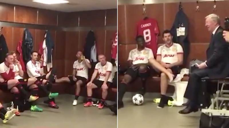 Sir Alex's Team Talk Before Michael Carrick's Testimonial Shows How Much Respect His Players Have For Him