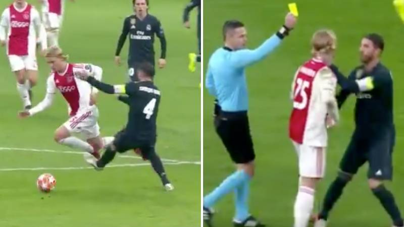 Sergio Ramos Faces UEFA Ban After He Admits Intentionally Picking Up A Yellow Card