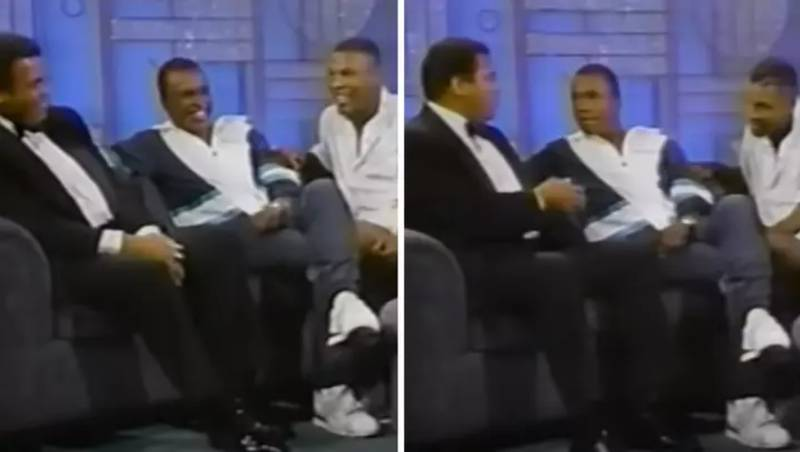 The Only Time Mike Tyson And Muhammad Ali Featured On The Same Talk Show Makes For Fascinating Viewing