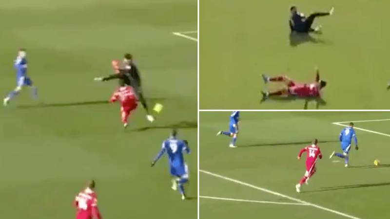 Alisson Becker And Debut Ozan Kabak Get In Horrible Mix Up As Liverpool Lose 3-1 To Leicester City