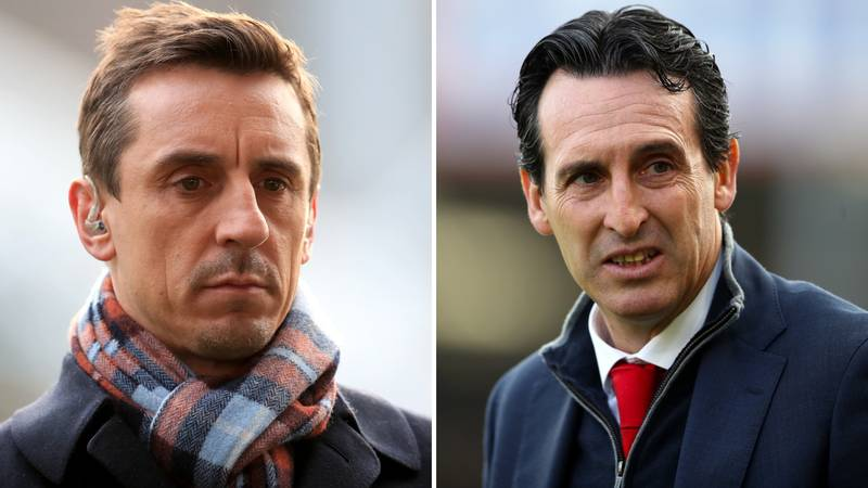 Gary Neville Believes Unai Emery's Transfer Policy Is Changing Arsenal's Mentality