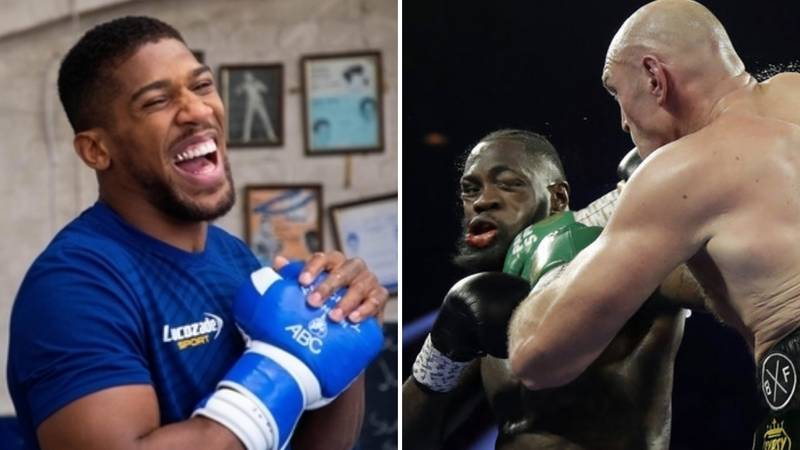 Anthony Joshua Identifies Important Edge Tyson Fury Had Over Deontay Wilder In Their Rematch