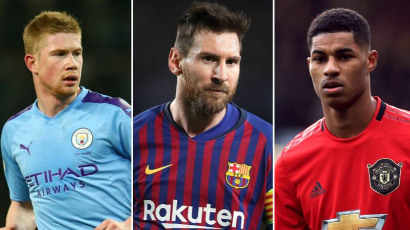 Top Ten Players With The Most Goals And Assists In Europe's Top Five Leagues This Season
