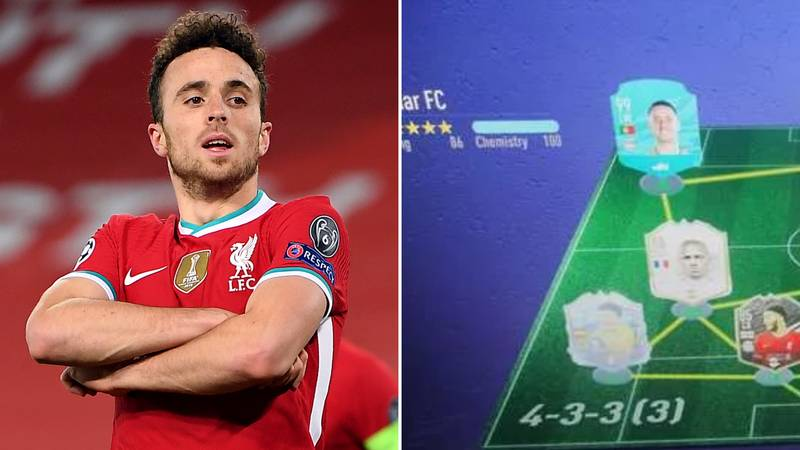Diogo Jota's FIFA 21 Ultimate Team Shows Exactly Why He's The Best Pro Player