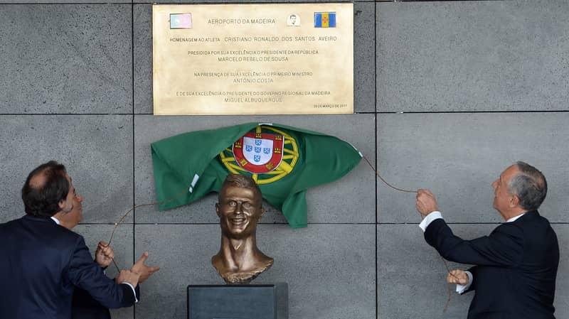 Cristiano Ronaldo's Sculptor Hits Back At Critics Of Head Statue