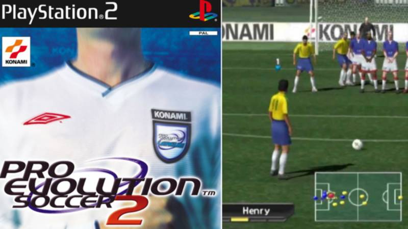 'Pro Evolution Soccer 2' Voted The Greatest Football Game Of All Time