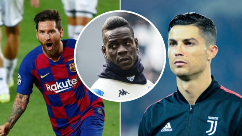 Mario Balotelli Names His Pick Out Of Lionel Messi Or Cristiano Ronaldo