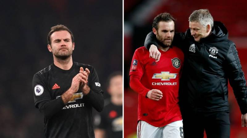 Juan Mata Eyeing Up Move Away From Manchester United